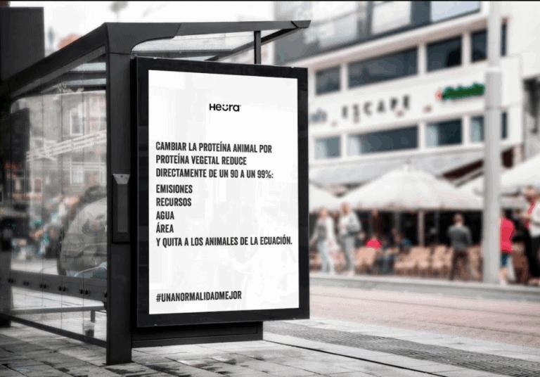 Heura Foods street ad