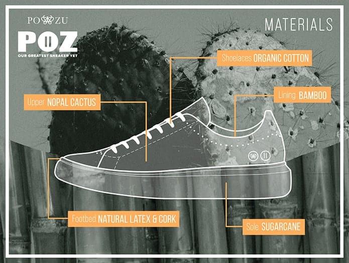Po-Zu Ltd cactus shoes