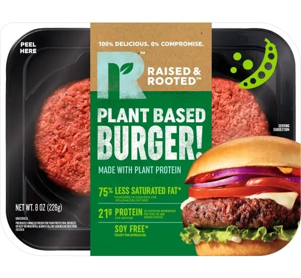 Raised & Rooted burger Tyson Foods