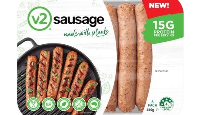 v2food sausages