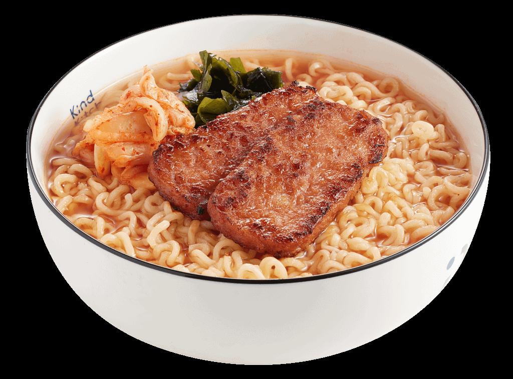 新餐肉辛辣麵Omni K-Ramen