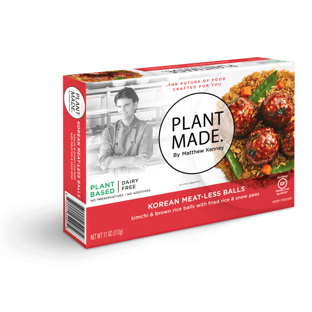 PlantMade Korean Meatballs