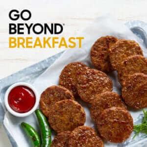 Go Beyond Breakfast Sausage Beyond Meat