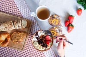 vegan startup chickpea cookies, snacks, protein, fibre