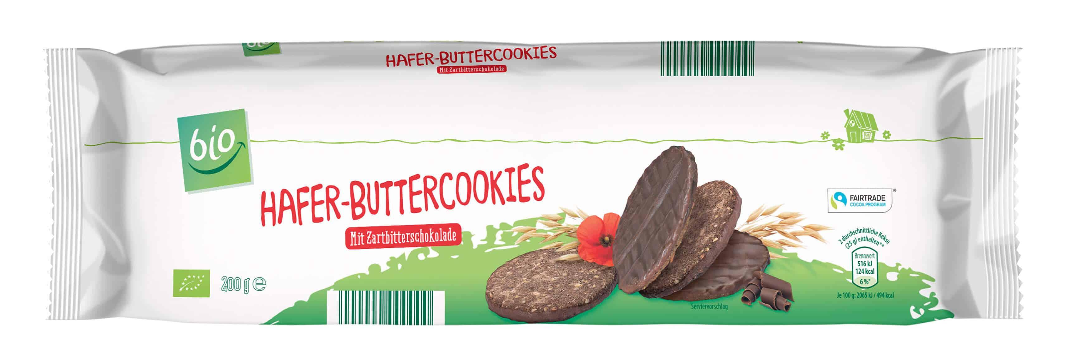 ALDI SÜD Organic Oat cookies dark chocolate