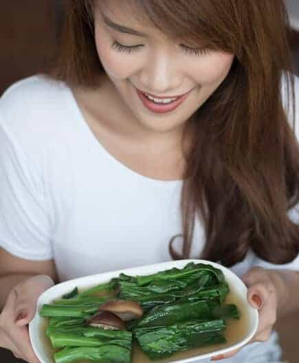 China Chinese woman vegan