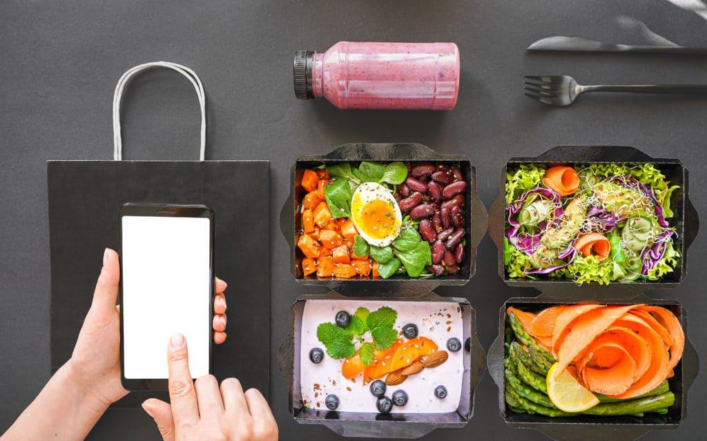 phone healthy food app