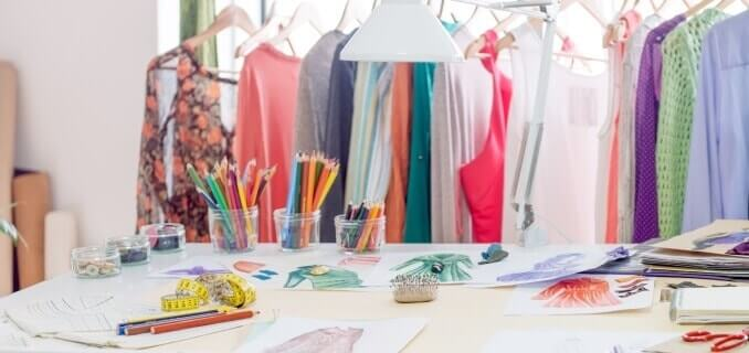 Fashion designer studio