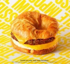 BK croissantwich