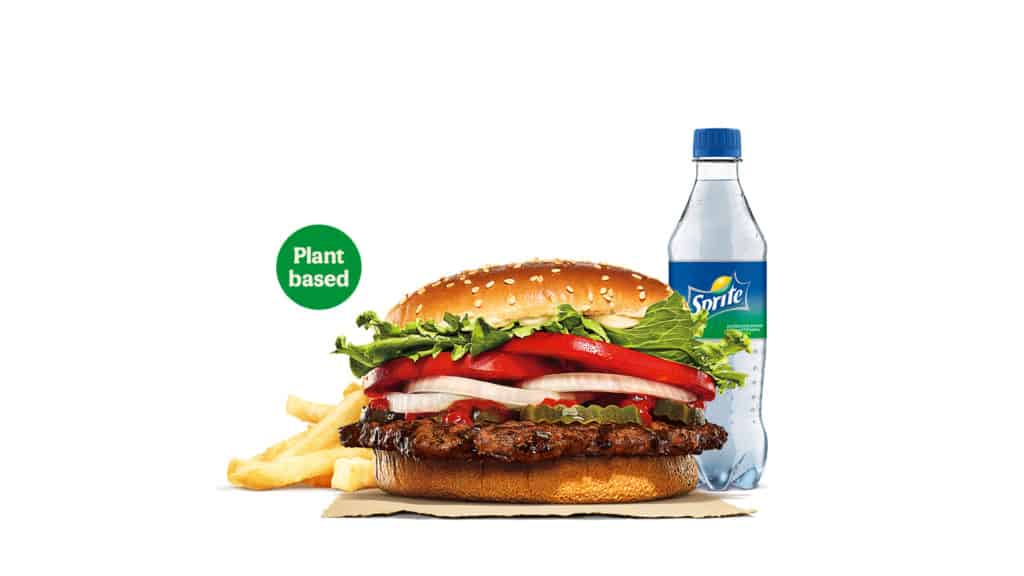 Burger King UK Whopper