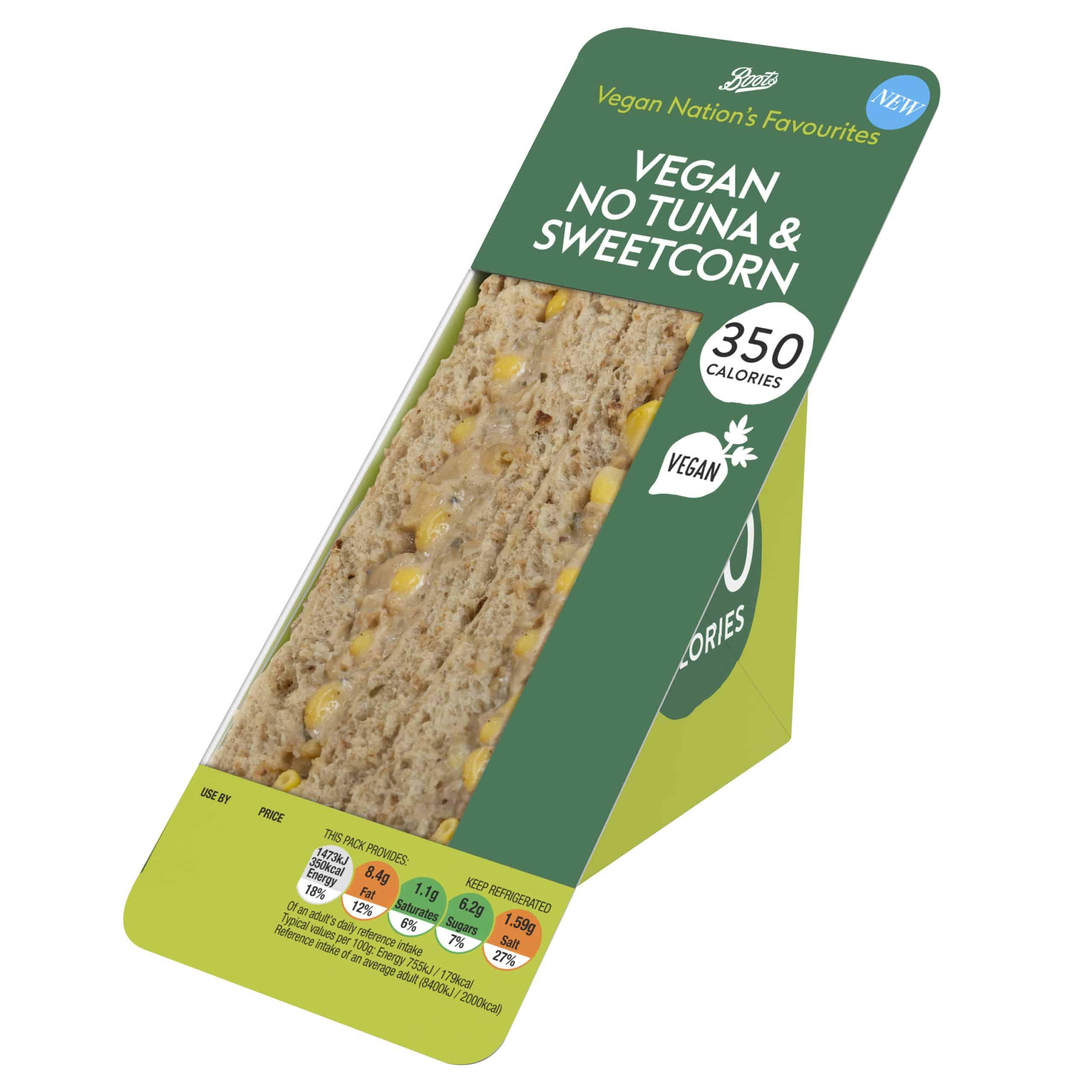 Boots vegan sandwiches