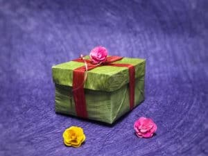 Banana Leaf Gift Box