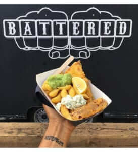 Battered - fish and chips image 2