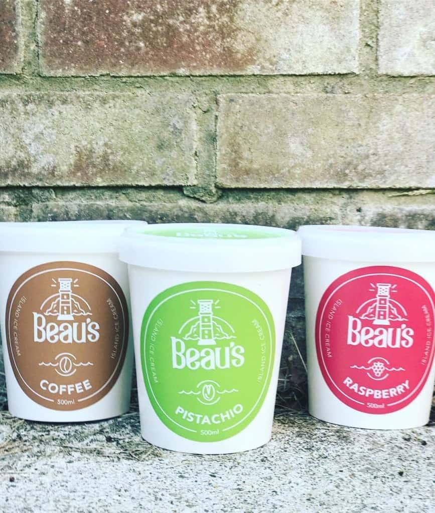 Beau's ice cream FB