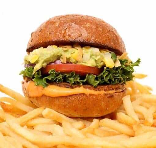 Beckham burger by Chloe