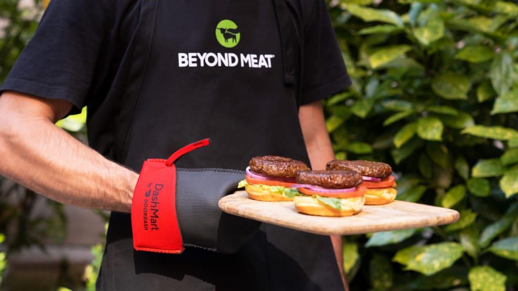 Beyond Meat DoorDash BBQ