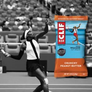 CLIFBAR SUSTAINED Venus Williams