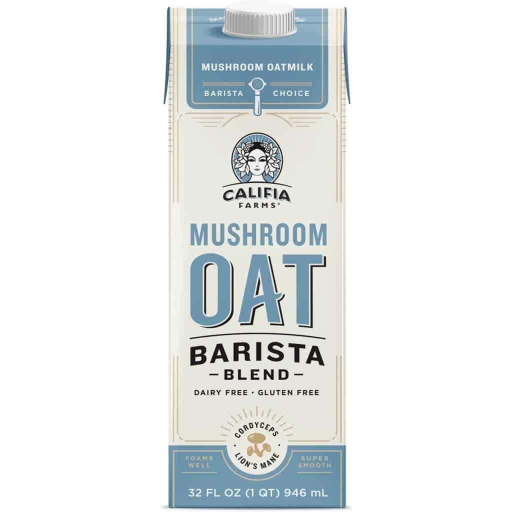 Califia Farms mushroom oat blend