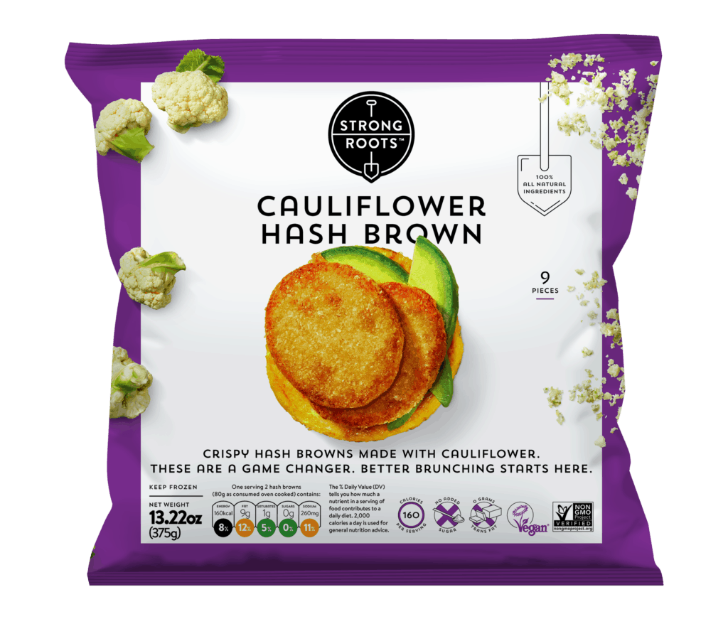Cauli hash brown Strong Roots