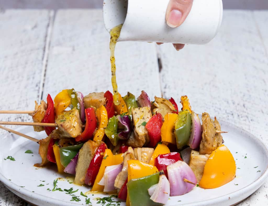 Chicken Skewers PlantAsia