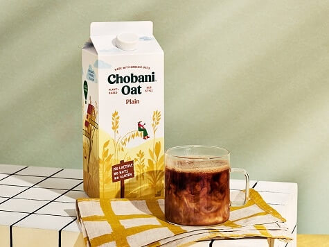 Chobani Oat Drinks four flavors