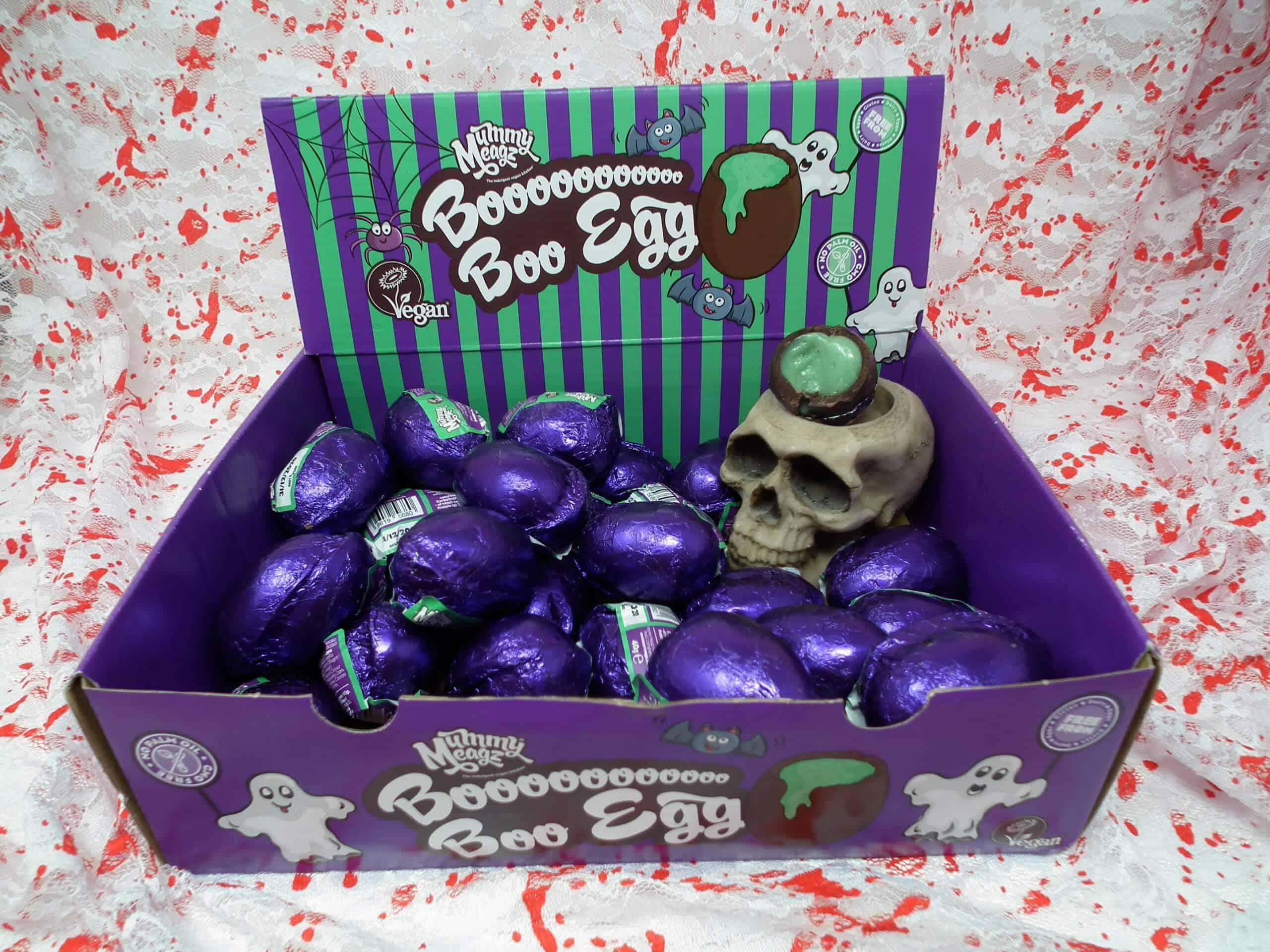 Mummy Meagz Boo Boo Egg Halloween