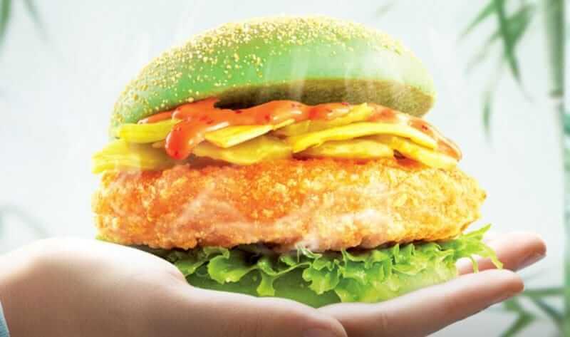 Dicos chicken burger