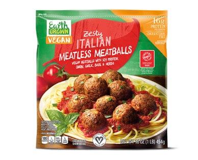 Earth Grown meatballs Aldi