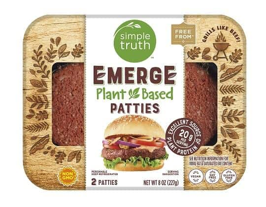 The Kroger Co Simple Truth Plant Based Emerge Patties