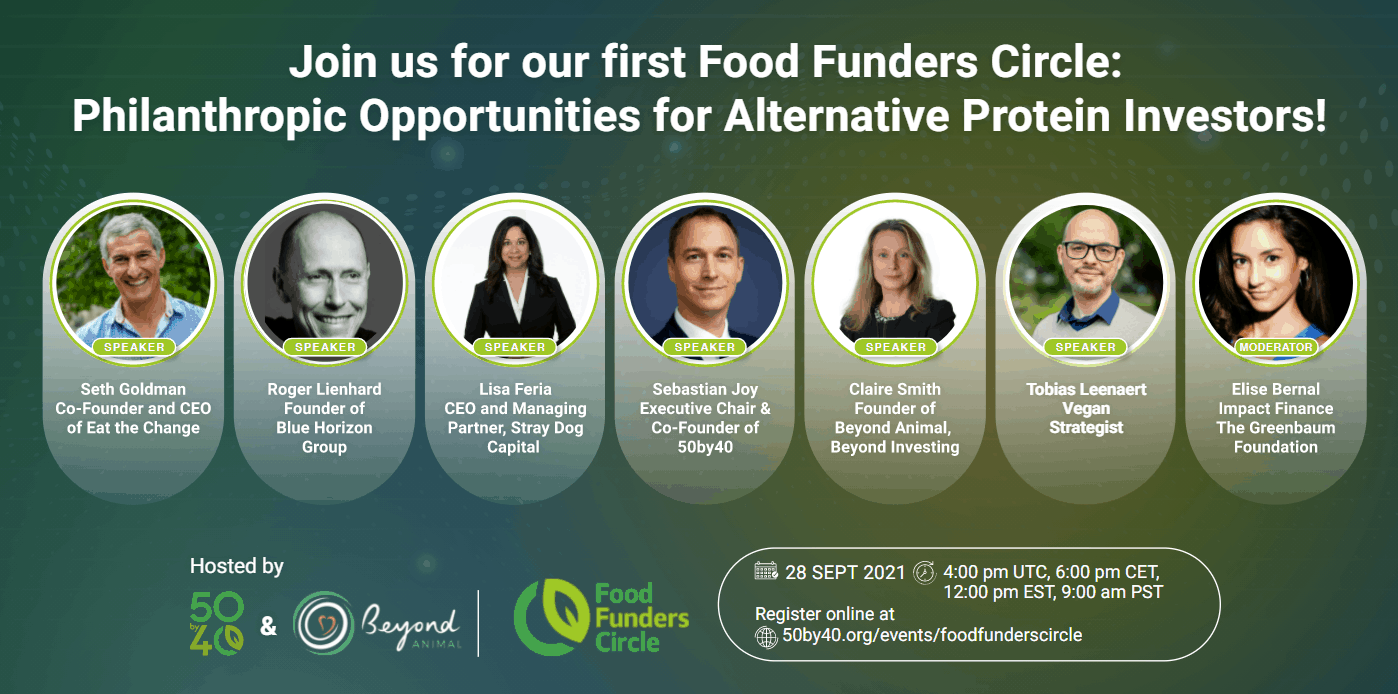 FoodFundersCircle Panel Lineup on Sept 28-2021