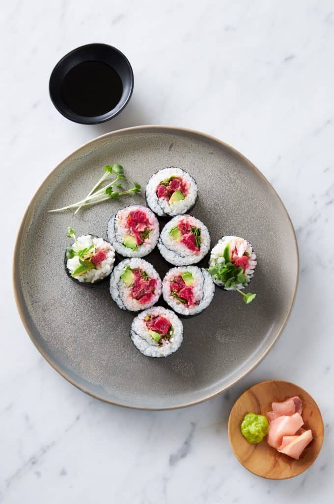 Finless Foods sushi