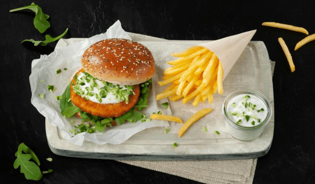 Schouten fish-free burger