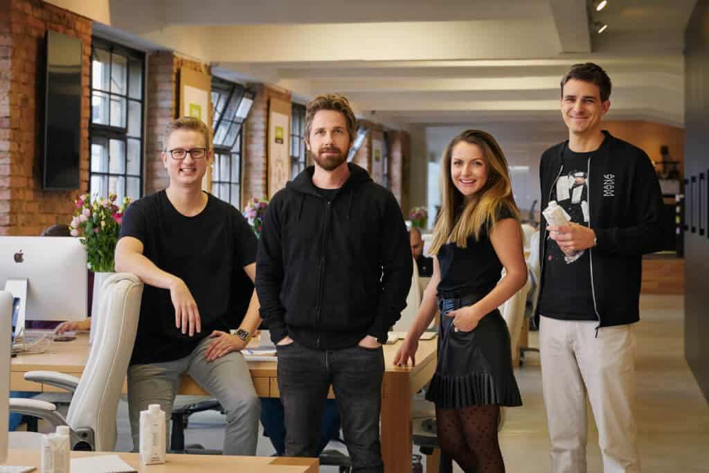 Founders Greg Vyatkin, Jakub Krejcik, Zuzana Krejcikova, Marek Humpl