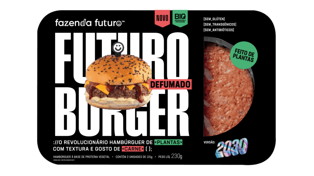 Future Farm burger fumé