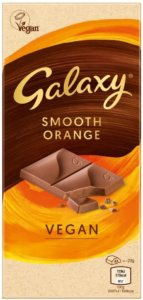 Galaxy vegan smooth orange