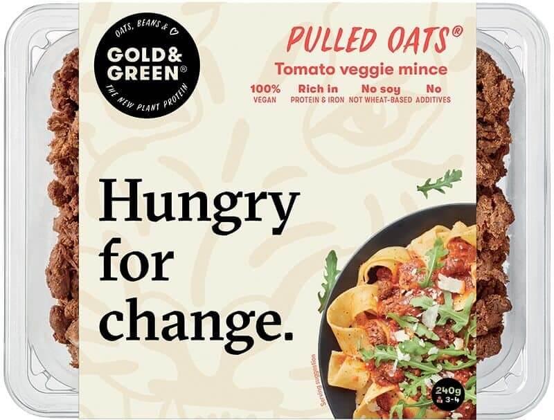 Gold & Green tomato oats