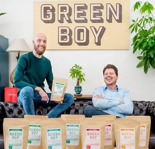 Green Boy founders