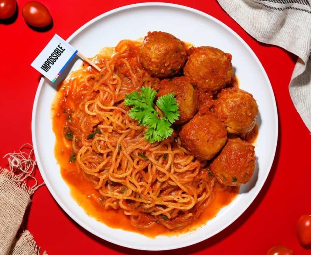 Insane Meals ImpossibleMeatballPasta