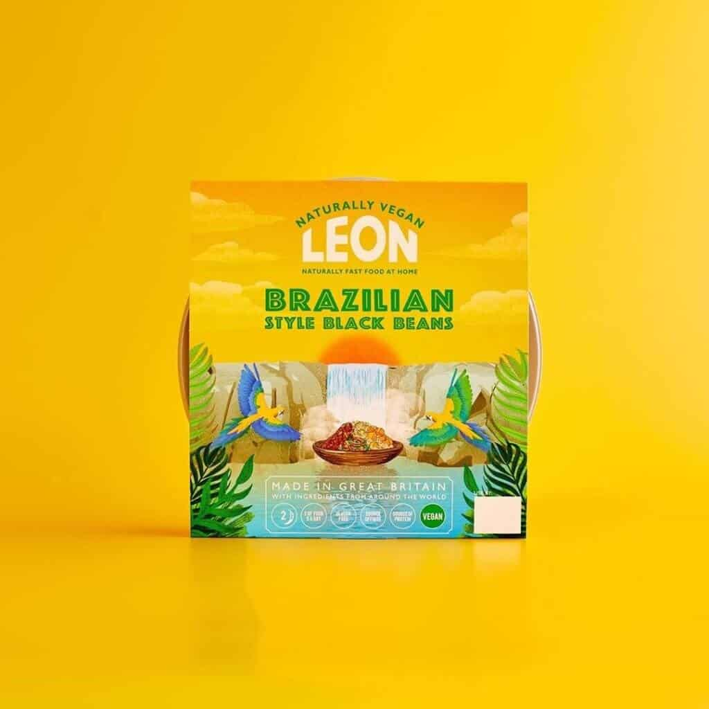 Instagram LEON vegan meal