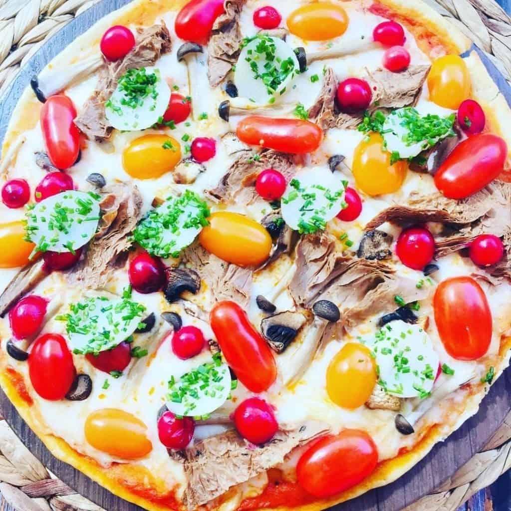 Just Vegan pizza