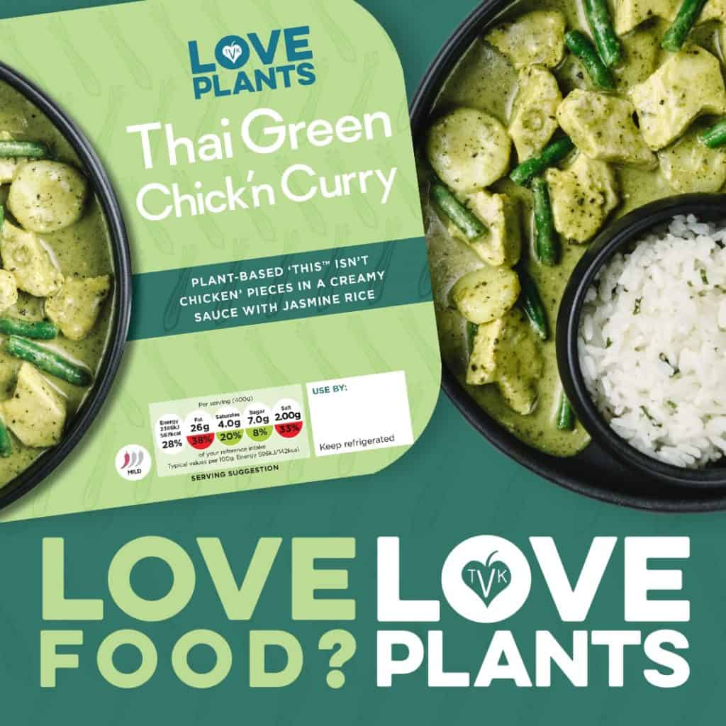 Love Plants Curry The VeganKind