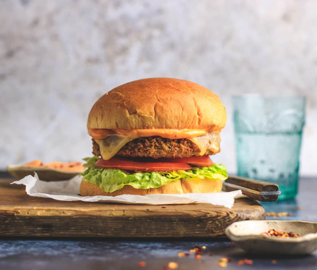 LoveSeitan burger