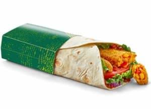 McDonalds wrap