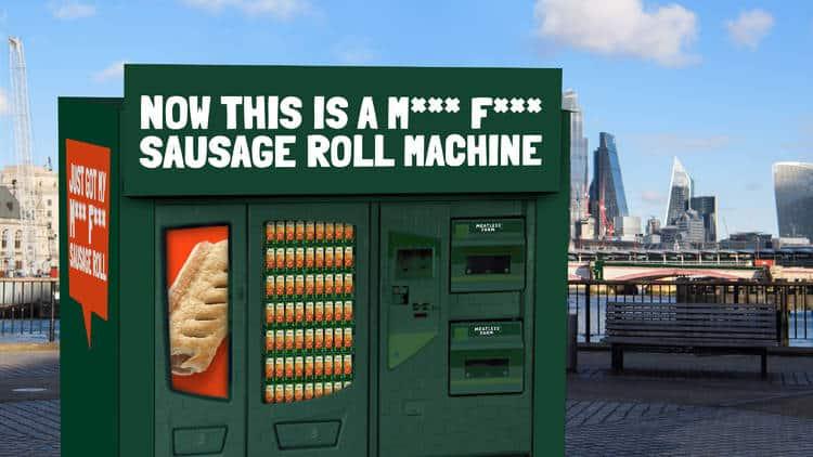 Meatless Farm vending machine