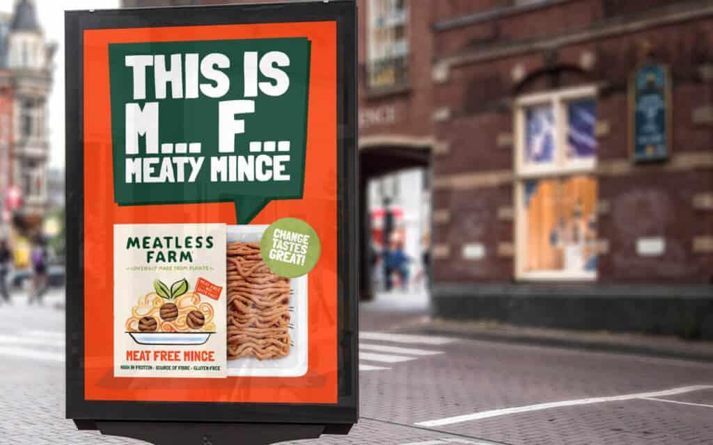 Meatless Farm ad