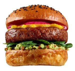 Meaty Burger Meatless Farm