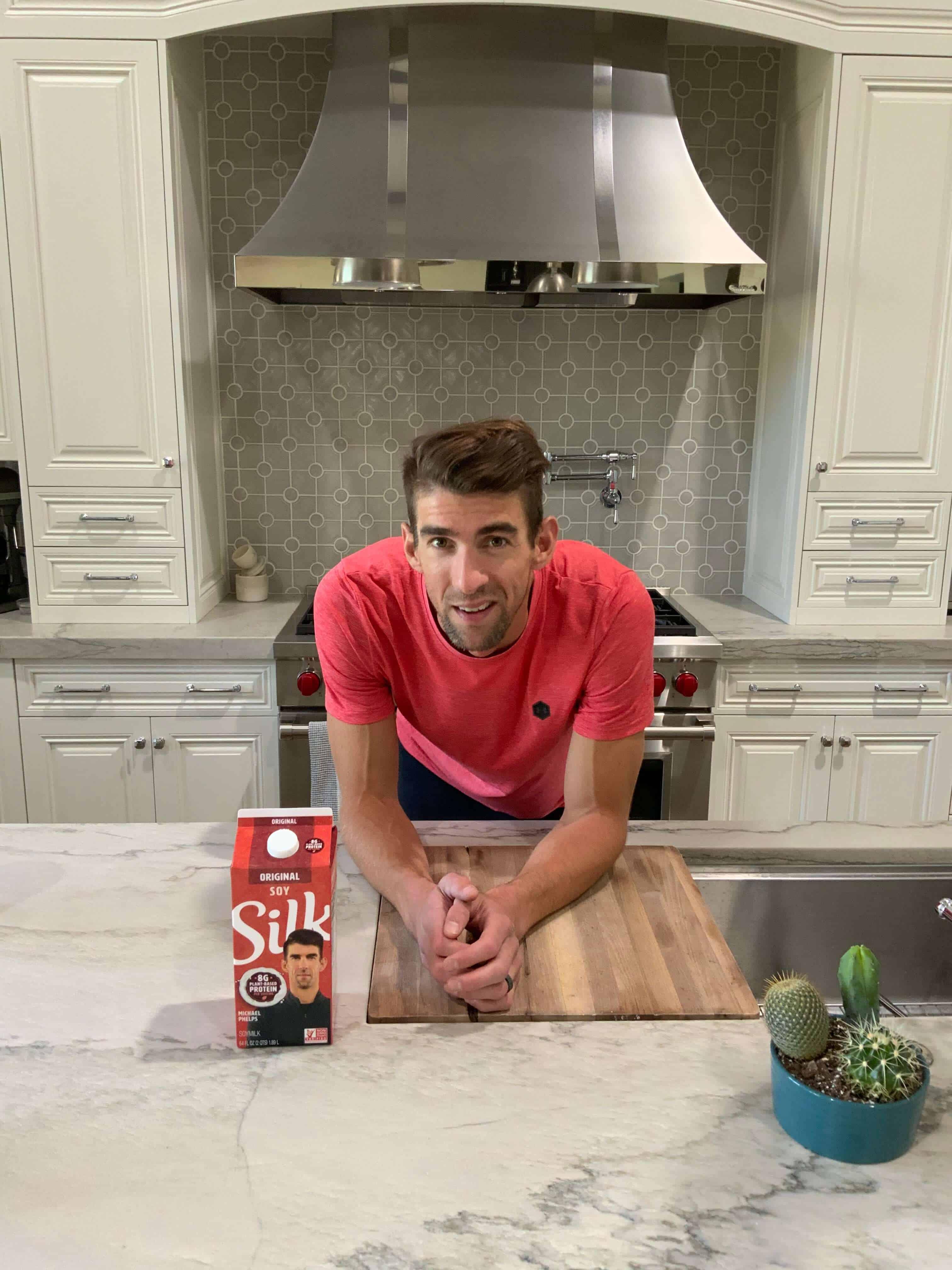 Michael Phelps, Silk, Soymilk