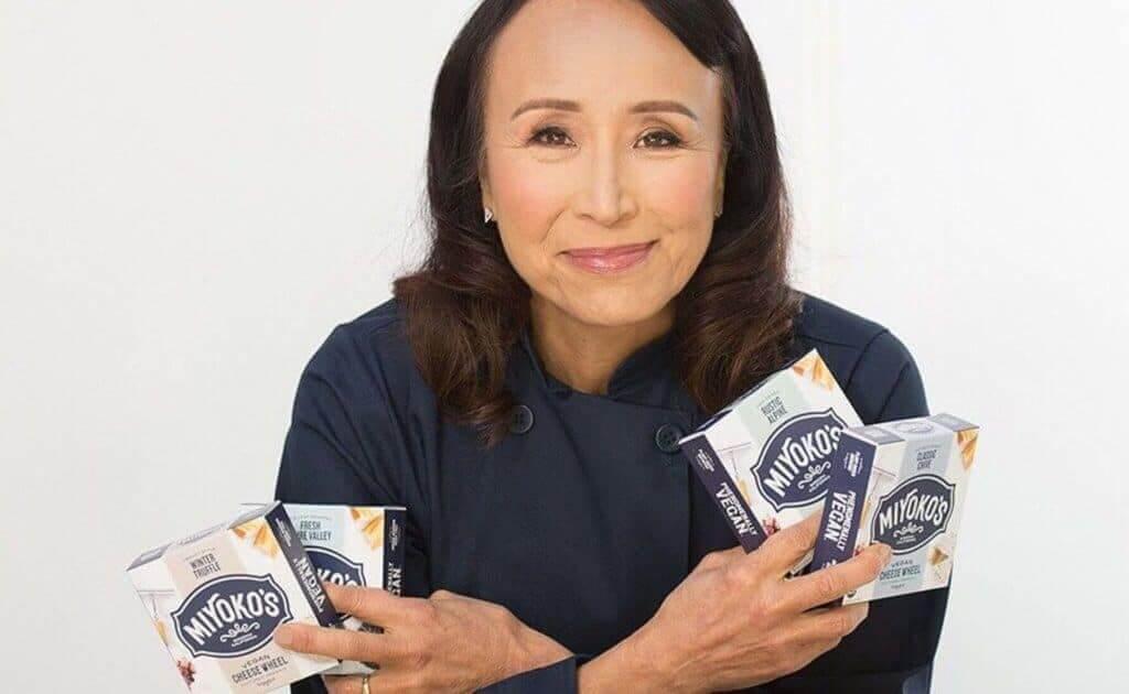 Miyoko with cheese
