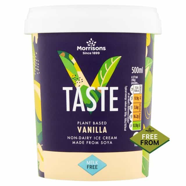 Morrisons V Taste ice cream