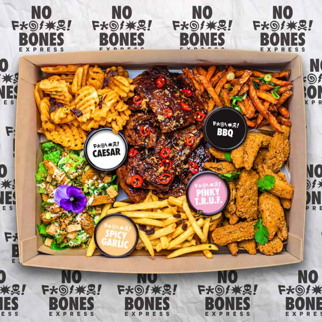 NOBONES EXPRESS Vegan Junk Food Bar